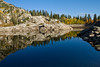 Alpine lakes at sunrise<br /> Brighton Lakes Trail<br /> Utah