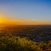 Evening Sun on South Mountain, Phoenix, AZ