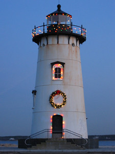 Christmas at Edgartown Lighthouse