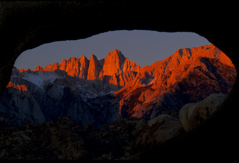 arches, Bishop, California, Landscape, Mt Whitney, Owens Valley Copyright Chris Collard - All rights reserved