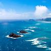 Mokulua Islands in the Sea