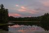 Sunset over Kanuga Lake