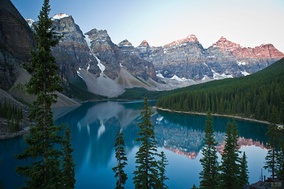 Forever View Moraine Lake, Banff National Park Alberta, Canada © 2011