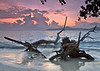 La Digue, Anse La Réunion, Seychelles,