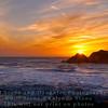 Sunset from Sutro Baths - San Francisco