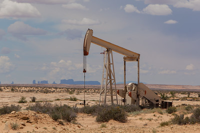Oil Well Near Valley Of The Gods