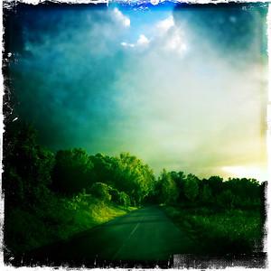 Road To Les Alluets