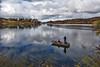 Fishing on Lake Poway