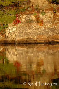 Granite reflection.