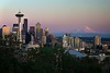 Seattle Evening from Kerry Park - Version 2
