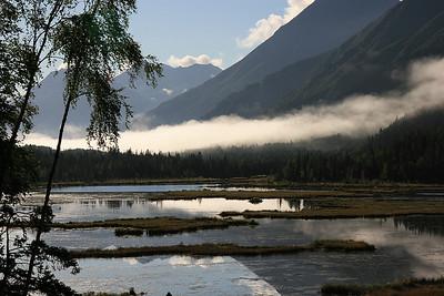 Tern Lake, Kenai Peninsula, Alaska.