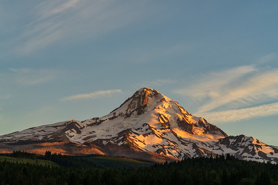 Landscape: Alpenglow, Mt Hood | Mt Hood National Forest