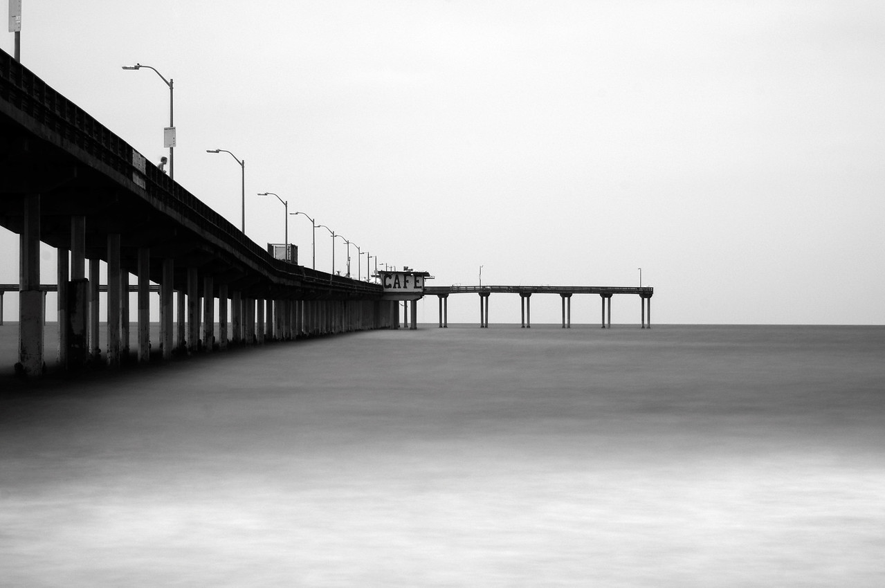 Ocean Beach Pier Infra-red