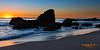 Sunset @ Wood's Cove.  Laguna Beach, California