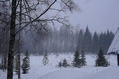 Lumipyry - Snowstorm
