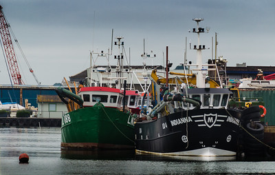 Fishing Boats at Old Leigh onsea Essex England
