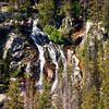 Mountain Waterfall.  Bighorn Mountains.