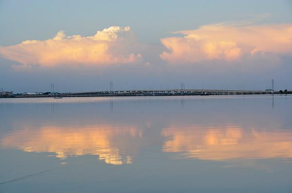 Peace River at Sunrise, Punta Gorda, Florida