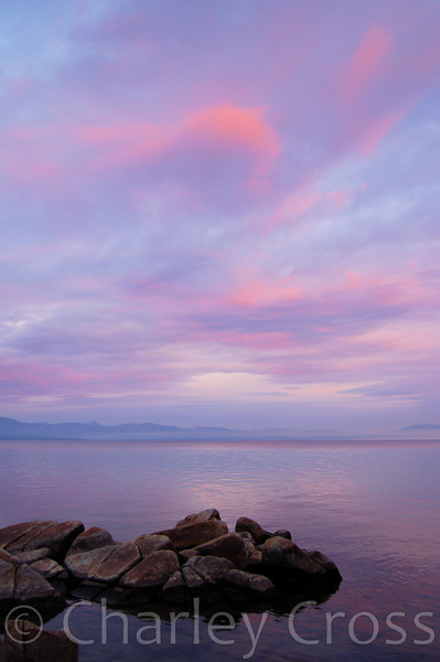 Dawn Brings New Hope. Lake Tahoe, NV (18 Oct 2008)