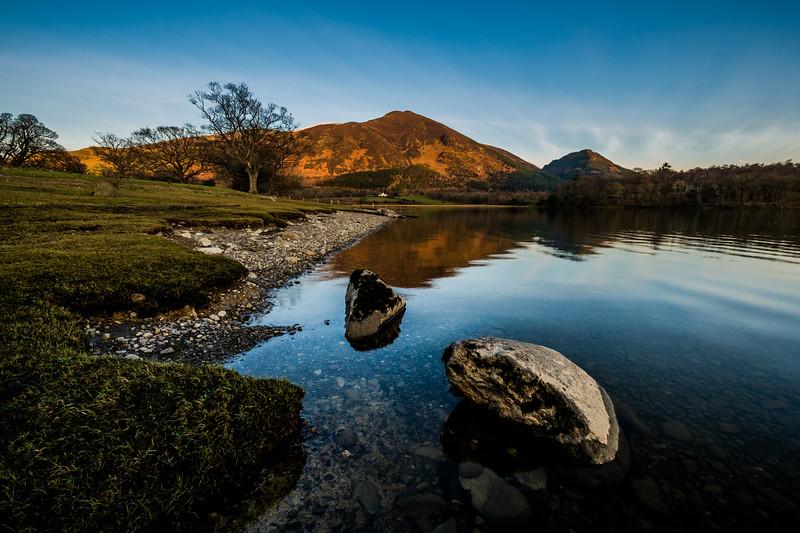 Little Man and Lesser Man from Bassenthwaite Lake - Lake District, UK