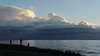 Impressive storm clouds over Juan de Fuca Strait
