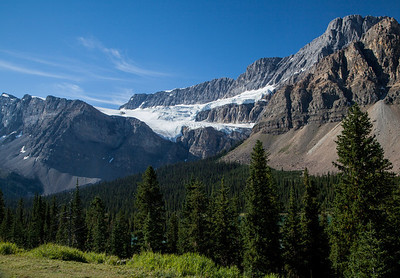 Crowfoot Glacier, Banff National Park (August 2012)