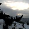 Winter morning in Lake Tahoe , California