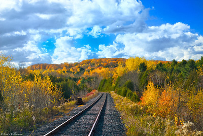 Autumn Railroad
