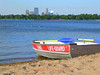 Lifeguard boat on Lake Calhoun