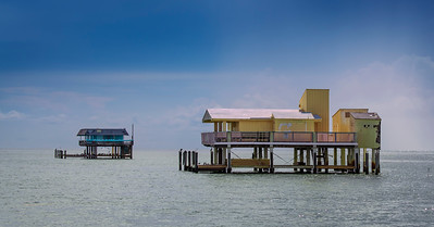 Houses of Stiltsville, Biscayne Bay, FL