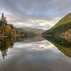 Morning View Tyax Lake Canada