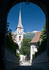 A church in Chur, Swiss.