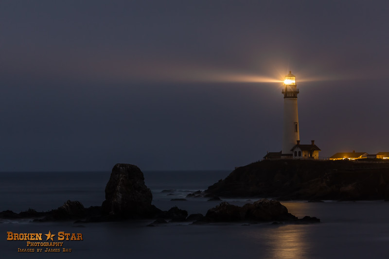 Pigeon Point Lighthouse.  Pescadero, California