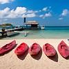 Bora Bora island in French Polynesia.