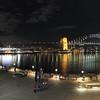 Circular Quay panorama. Sydney, Vivid Festival