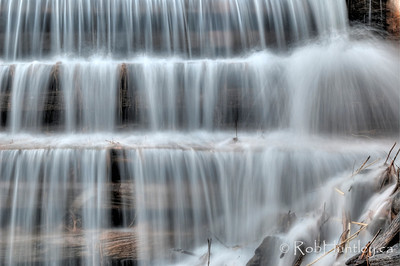 Close-up of portion of the dam at a mill pond on Waba Creek, near White Lake, Ontario. HDR I feel fortunate to have access to this beautiful area. It is private property of a friend of a friend. © Rob Huntley