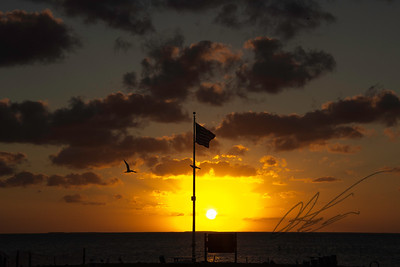 Biscayne National Park Sunset