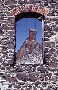 Quincy Mine, Keweenaw Peninsula, Michigan, 1980