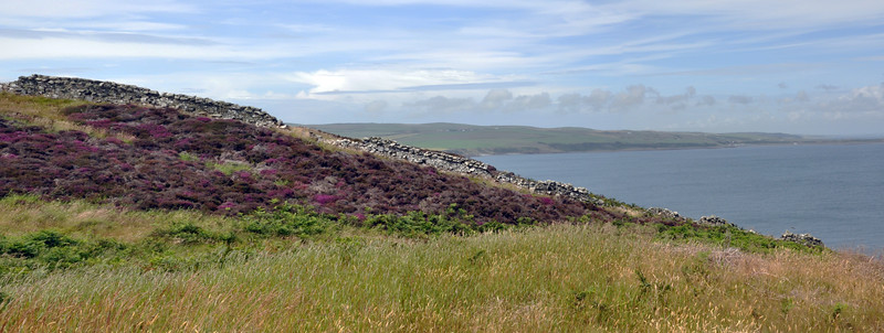 View of Luce Bay from the Mull of Galloway