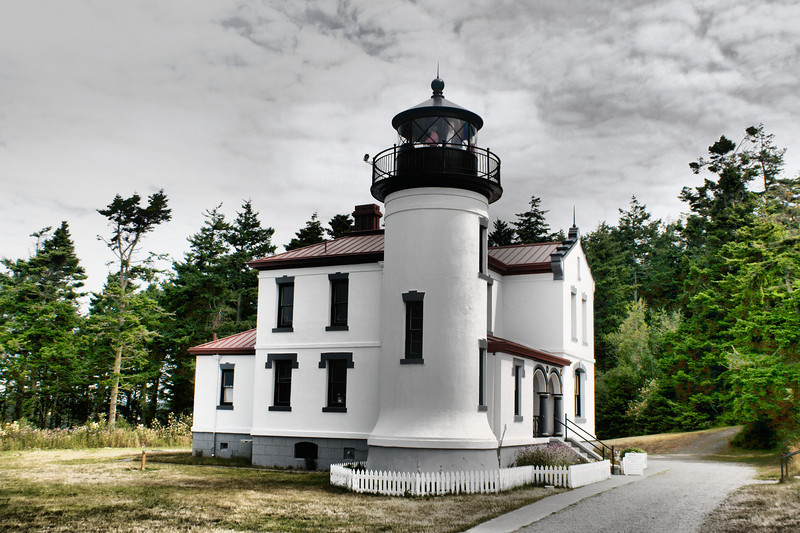 Admiralty Head Lighthouse, Fort Casey State Park. Whidbey Island.