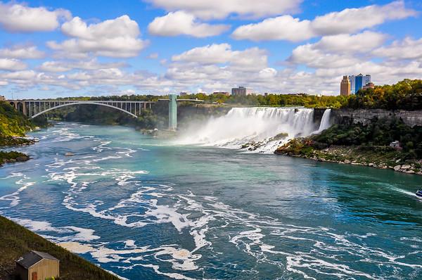Niagara Falls and The Rainbow Bridge
