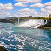 Niagara Falls and The Rainbow Bridge