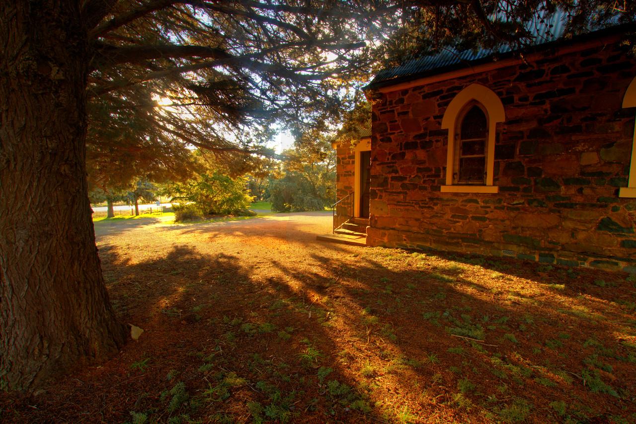 Old church yard