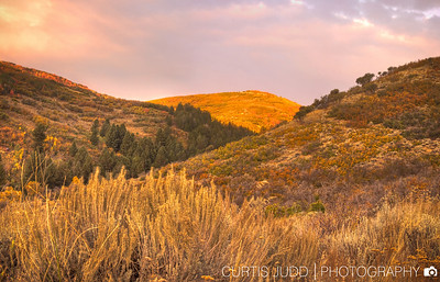 Autumn Sunrise Tollgate Canyon 1