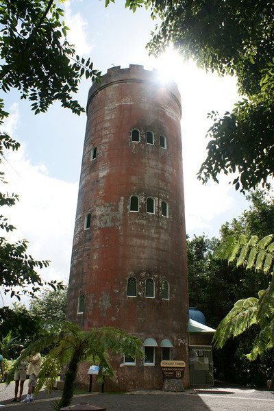 Yokahu Tower, El Yunque, Carribean National Forest. Puerto Rico