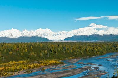 Vista of Denali National Park  Denali State Park - South Viewpoint Alaska © 2012