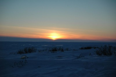 Sunset over Hudson Bay