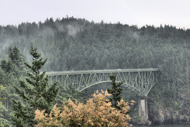 Deception Pass Bridge WA.