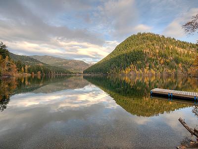 Tyax Resort Mountain Reflection