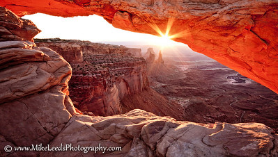 Mesa Arch at Sunrise, Utah.
